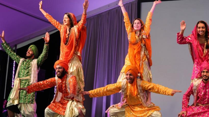 Harvard Bhangra performs in ARTS FIRST 2015