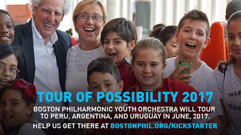 Boston Philharmonic Youth Orchestra Tour Send-off Concert