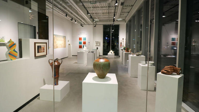 Fall 2016 exhibition: Under One Roof - Ceramics Program Resident Artists and Instructors