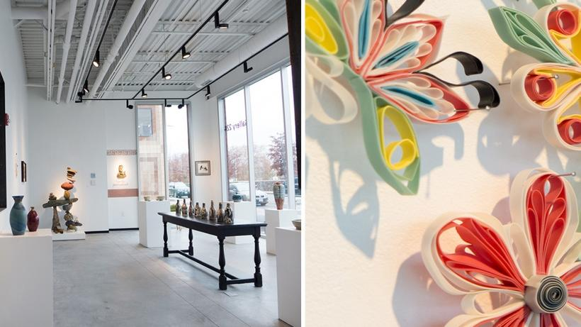 Exhibitions in Gallery 224 showcase the work from Harvard-based, local and international artists.