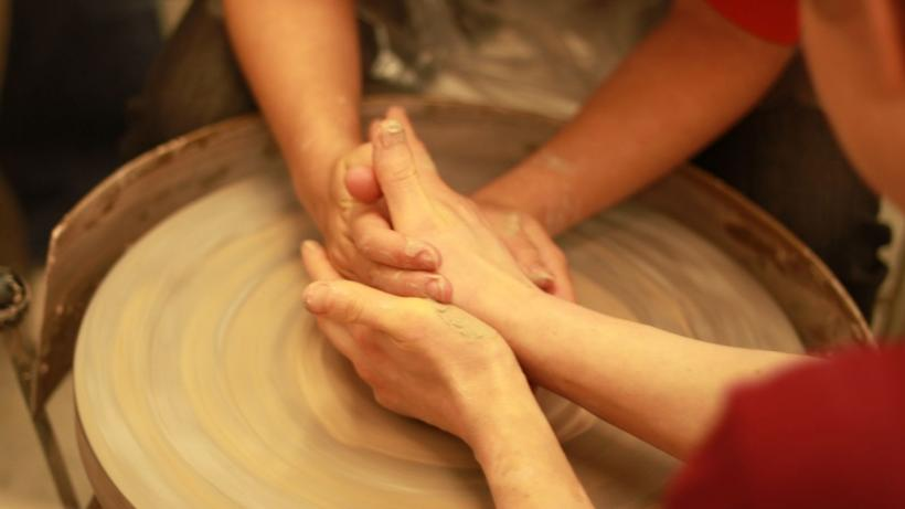 Courses available in wheel throwing, image on clay, murals, mold and multiples, exploring clay and much much more!