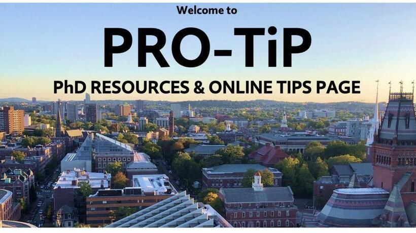 Interested in applying to Graduate School? Visit our PRO-TiP page for answers to many FAQs!