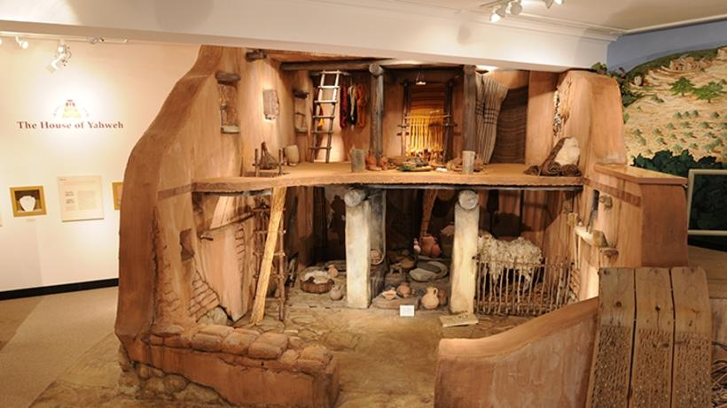 Photograph of Iron Age Israelite House Replica