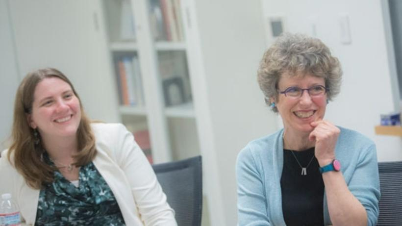 Professors Alexandra Killewald and Mary C. Brinton