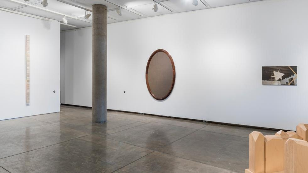 09/12 Installation view with works by Fernanda Fragateiro, Allison Smith and R.H. Quaytman