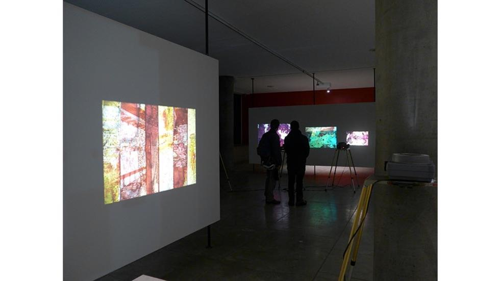05/13 Luther Price: Light Windows, installation view
