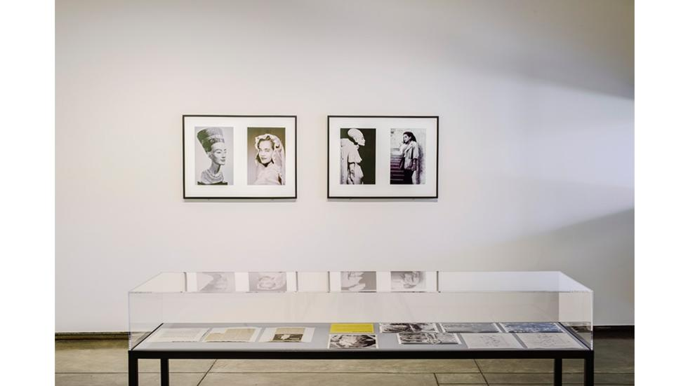 04/05 Installation view of Miscegenated Family Album (Sisters I) and (Cross Generational) Courtesy Alexander Gray Associates, NY