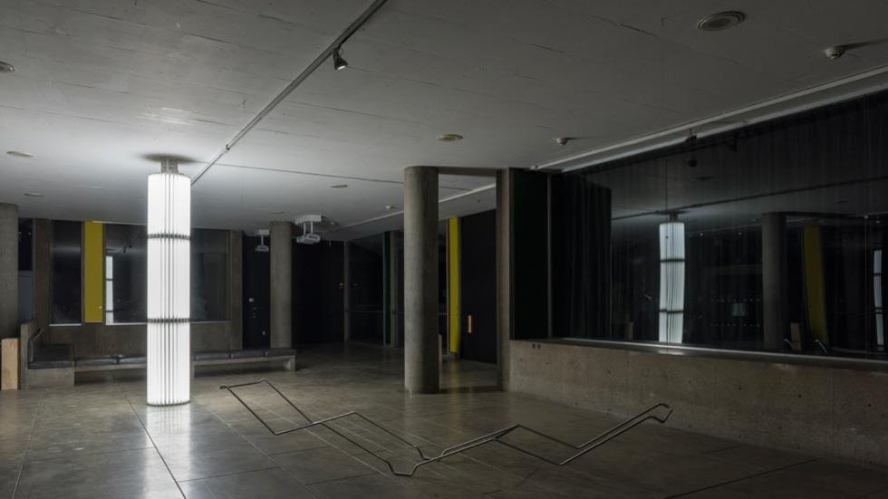 03/12 Installation view with works by Cerith Wyn Evans and Fernanda Fragateiro