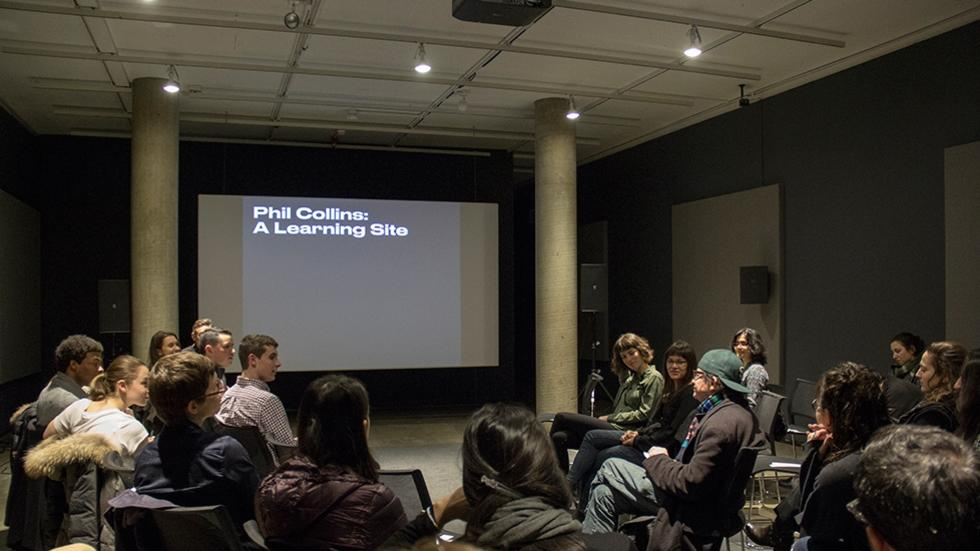 03/07 Open Seminar: Phil Collins in Context (Part 1), Sert Gallery, Mar 24, 2016.