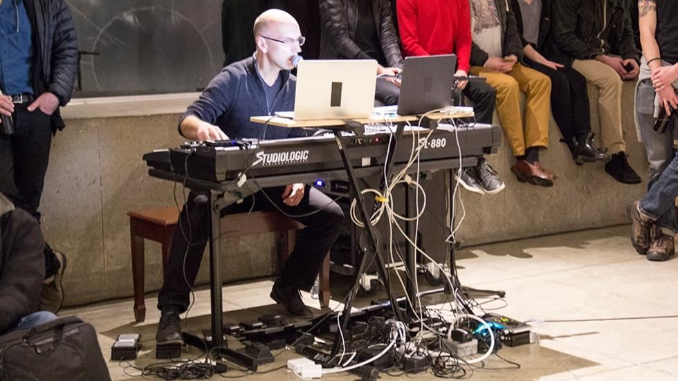 03/09 Performance by Hans Tutschku, composer and Director of the Harvard Studio for Electroacoustic Composition