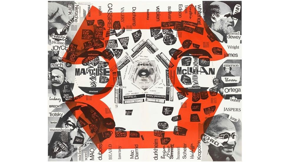 06/07 Maurice Stein, Larry Miller, and Marshall Henrichs. Poster from Blueprint for Counter Education, 1970.