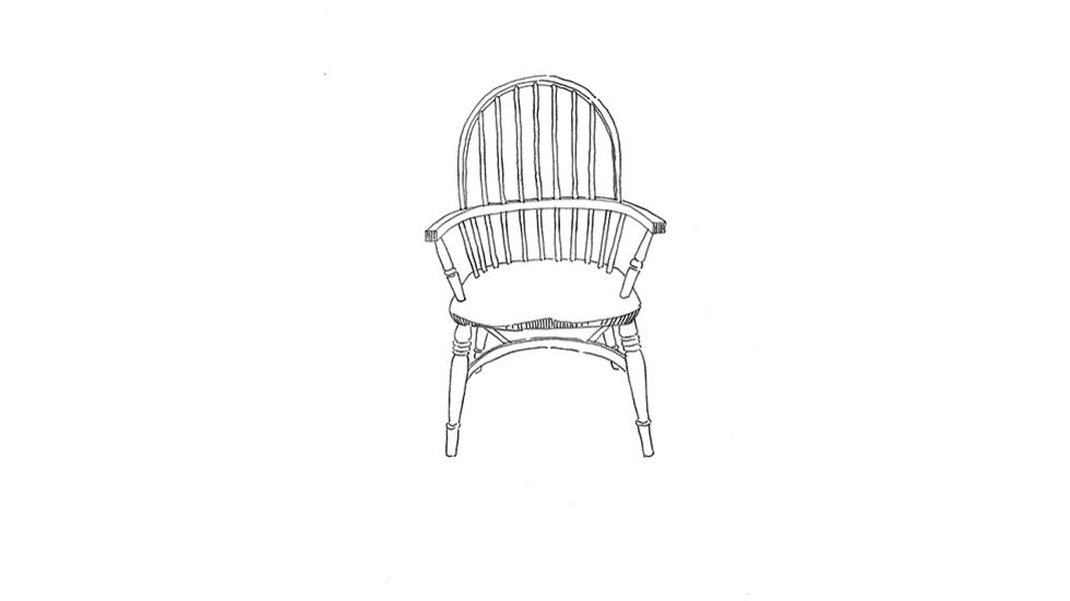 Allison Smith, Common Goods (chair), 2017, drawing