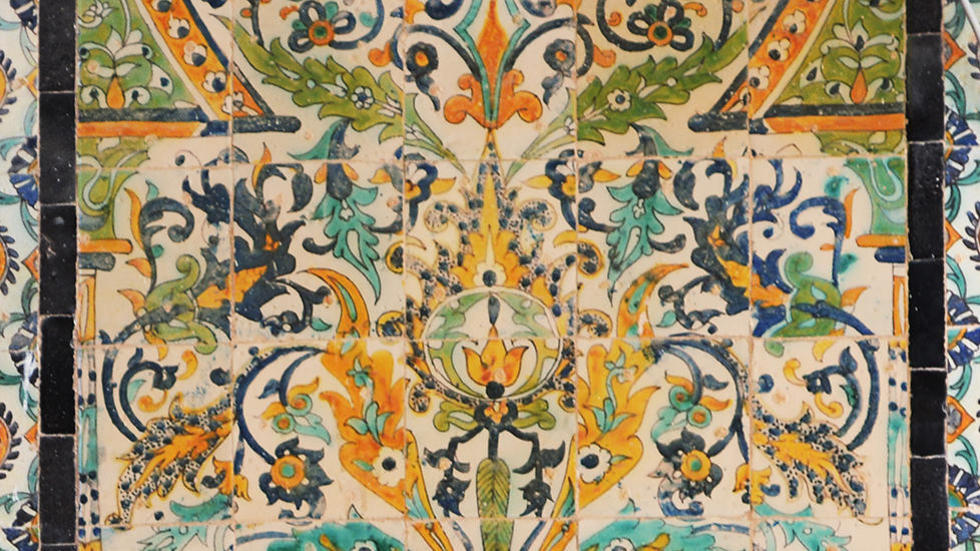 Tunisian tile pattern