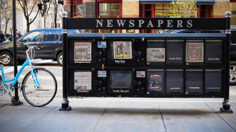 Image Source: Newspapers. Photo by Sean Davis, Flickr Creative Commons: http://bit.ly/2dMbx71
