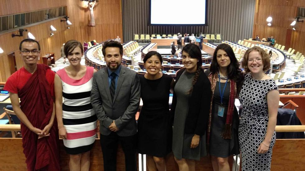 RPP sends student delegation to UN High Level Forum