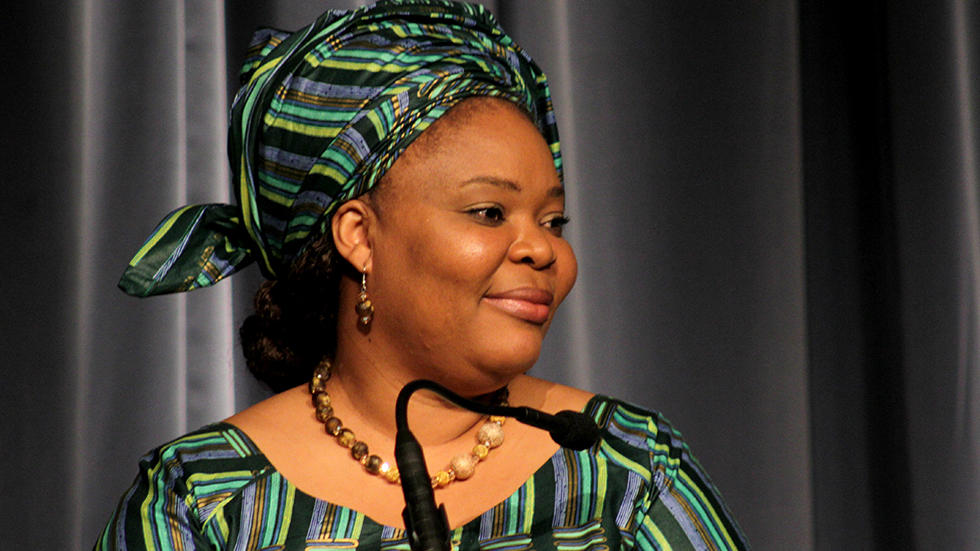Leymah Gbowee. / Photo: Sarah Hummert, Getty Images