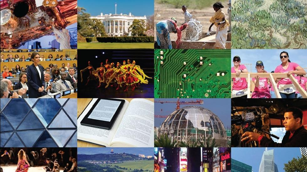 link to career pathways; collage of career images