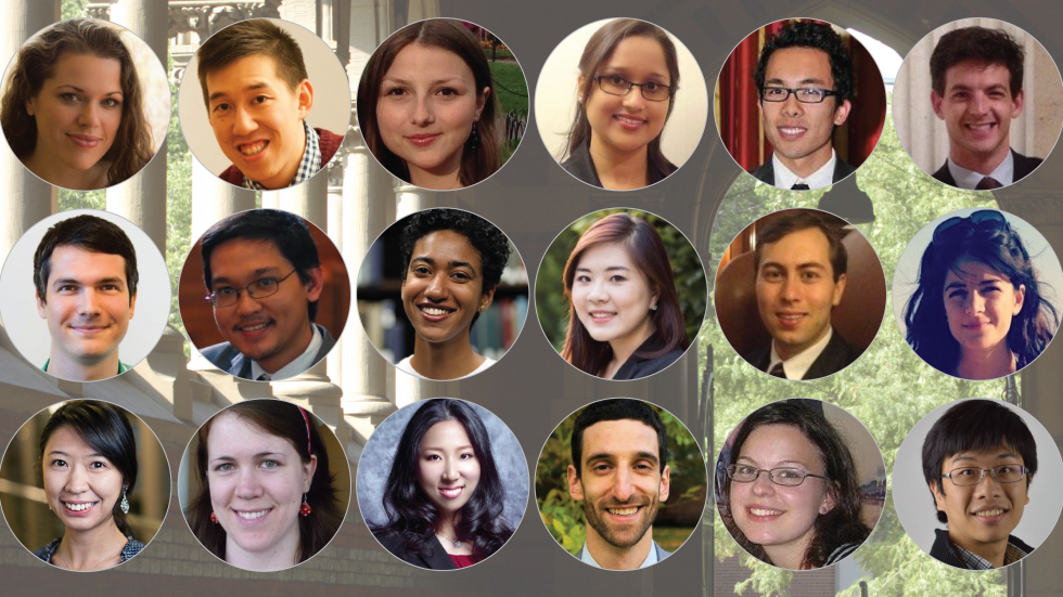 portraits of Harvard GSAS students; link to GSAS spotlights