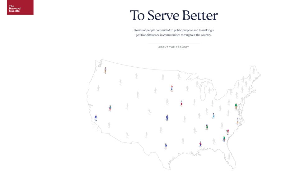To Serve Better: Stories of Harvard's Commitment to Public Purpose