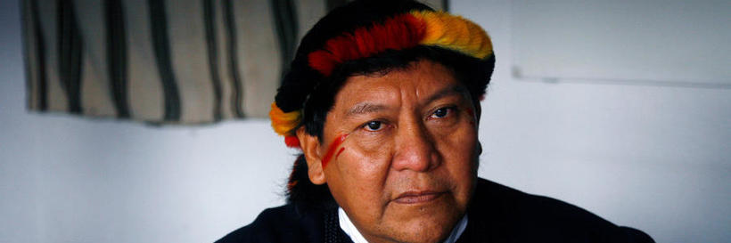 Interview with Yanomami shaman Davi Kopenawa