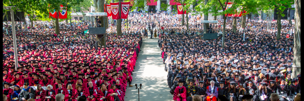 Harvard Graduation 2020.Commencement Office