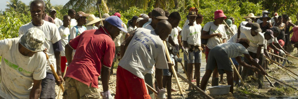 Flood Reduction Project Haiti