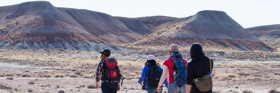 Blake Dickson Field Trip to Petrified Forest