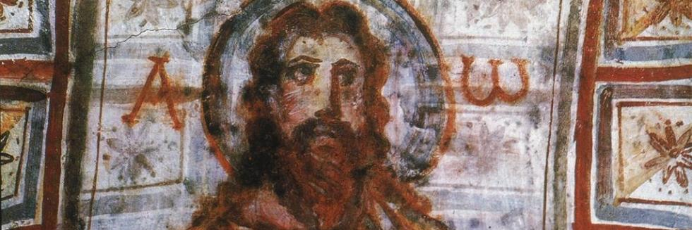 Medieval Christian artwork of Jesus Christ