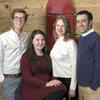 PionEar team members Aaron Remenschneider, Nicole Black, Ida Pavlichenko, and Elliott Kozin