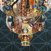 A photo of small section of a quantum computer