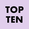 "The words ""Top Ten"""