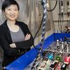 Xiaowei Zhuang, in her lab