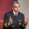 Surgeon General Vivek Murthy visits HKS