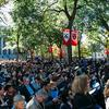 More than 10,000 assembled to witness the Installation Ceremony in Tercentenary Theater