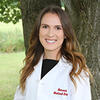 Abigail Marshall, DMD24, poses in her White Coat.