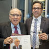 Dean Bruce Donoff celebrating with Vice Dean John Da Silva