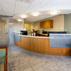 Cambridge dental practice reception area