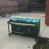 Local artist decorates piano as part of Boston Street Pianos