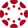 canvas logo icon in crimson