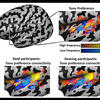 Mapping tone-preference connectivity patterns in deaf people shows the auditory cortex develops even without sounds.