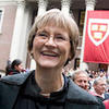 Drew Faust picture from Gazette story
