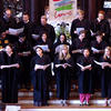 Choir sings at the Multireligious Commencement Service for the Class of 2016