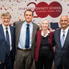 Harvard Deans David Hempton, James Ryan, Martha Minow, Nitin Nohria