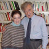 Guila Clara Kessous with Elie Wiesel