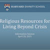 Religious Resources for Living Beyond Crisis