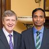 Dean Hempton with Ram Sudireddy