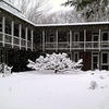 CSWR courtyard in the snow