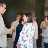 HUSI students mingle with faculty and staff
