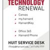 FAS Technology Renewal Demo Days Sign