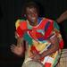 Sory Diabate playing West African drums
